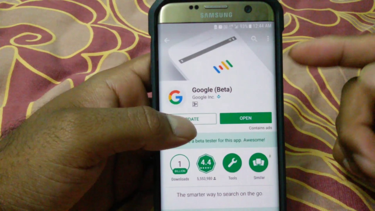 How to INSTALL Google Assistant on S8 S7 Edge S5 S6 any android devices  having Android 6/7 NO ROOT