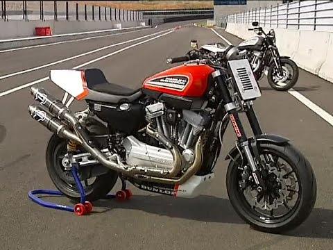 Harley-Davidson XR 1200 kit trofeo - YouTube