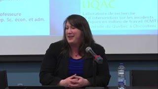 Conférence ISS: «La santé mentale au travail: L'impact de l'espace de parole pour le maintien de la santé psychologique au travail: le cas des pompiers»