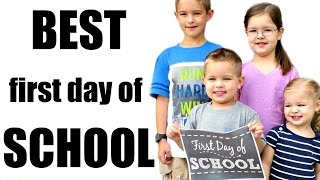 BEST First Day of SCHOOL EVER!