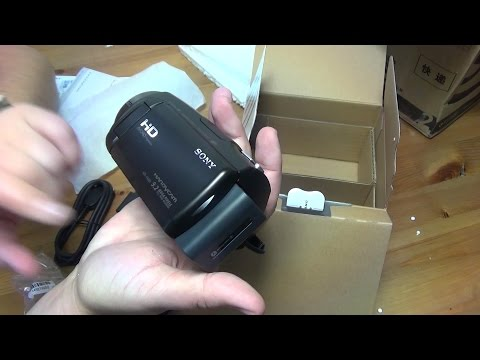 Камера Sony HDR-CX620. Посылка из России