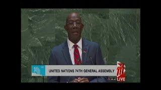 T&T PM Takes Bold Stance at UN Over Venezuela