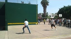 Tejuinero vs Local en Torneo de Fronton