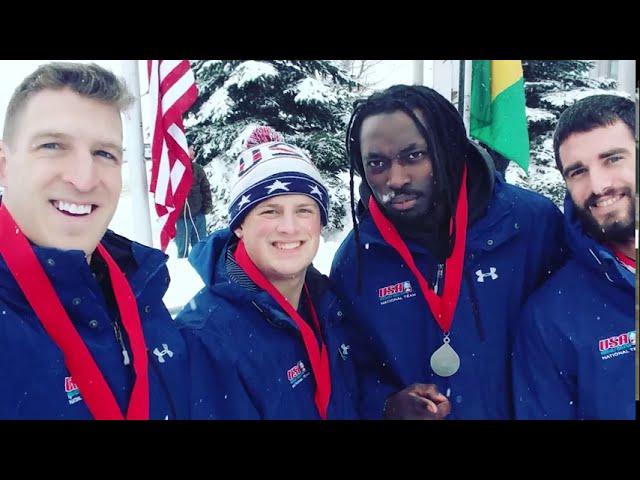 Pushing Iron to Chase Olympic Dream