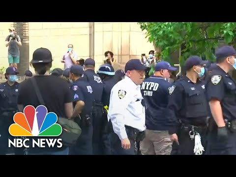 Protests Break Out In New York City After George Floyd's Death | NBC News NOW from YouTube · Duration:  17 minutes 24 seconds