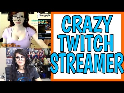 Thumbnail: CRAZY TWITCH STREAMER ON OMEGLE