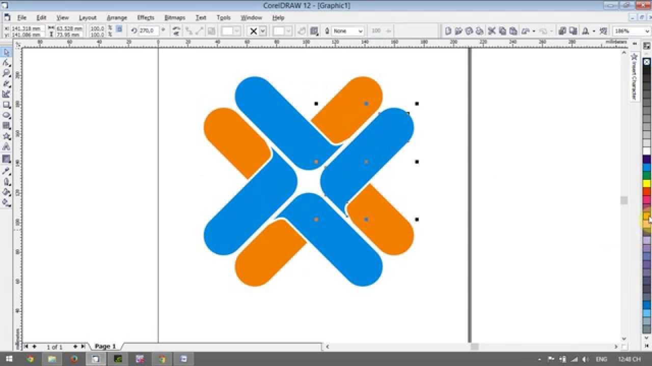Logo Design & Brand Identity design With CorelDRAW - [Lesson 1]
