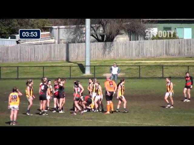 2013 SMJFL Grand Final Under 15 Girls - St Peters v East Sandringham