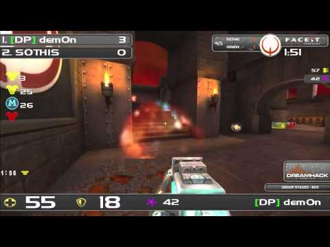 DHW2013 - Quake Live (GROUP STAGE) - SOTHIS vs dem0n