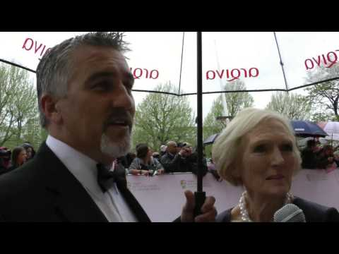Mary Berry & Paul Hollywood Interview - TV BAFTAs 2013