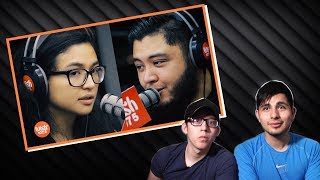 GUYS REACT TO Zia Quizon & Robin Nievera