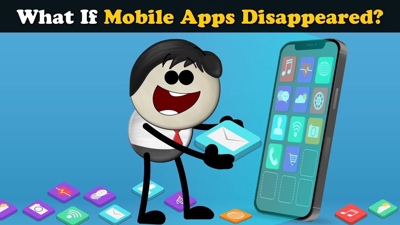 What if Mobile Apps Disappeared? + more videos | #aumsum #kids #science #education #children
