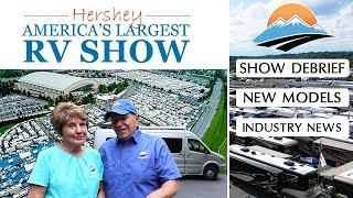 2018 Hershey RV Show! Industry News - 2019 RV Model Tours
