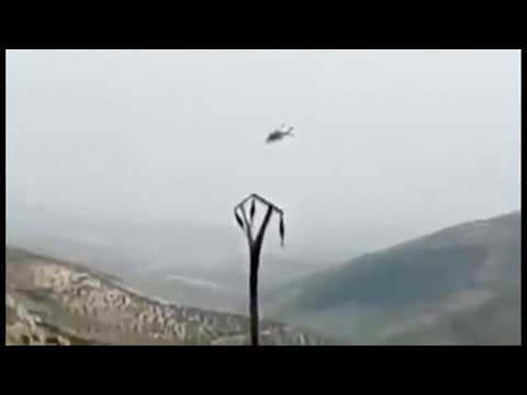 Turkish helicopter shot down by Kurdish militia in Syria's A