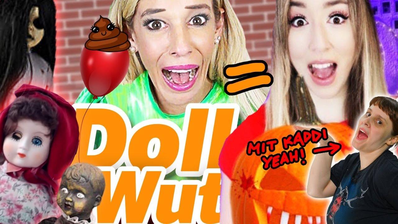 DOLL GEKLAUT?! 🎃 feat. @coldmirror! ❤️ Rebekah Wing & Prankbros gruseln sich vor PUPPEN!