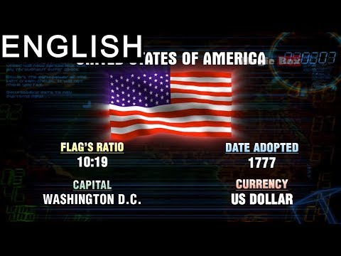 United States of America - North and Central America - Flags of the World -Animation Videos For Kids