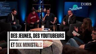 """Le """"Grand Débathon"""" : 10 ministres en opération séduction auprès des jeunes"""