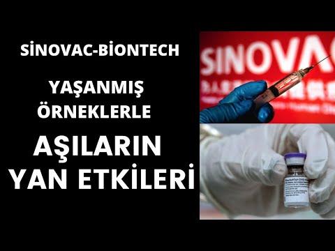 Sinovac ve Biontech aşılarının yan etkileri