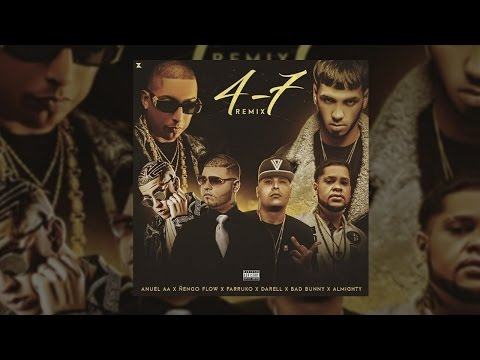 Ñengo Flow ✘ Anuel - 47 (Remix) Ft. Almighty, Bad Bunny