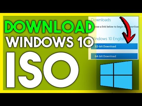 How To Download Windows 10 Latest Version ISO File From Official Site 2018!
