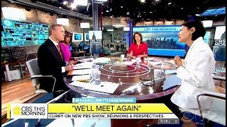 Ann Curry Chats New PBS Show