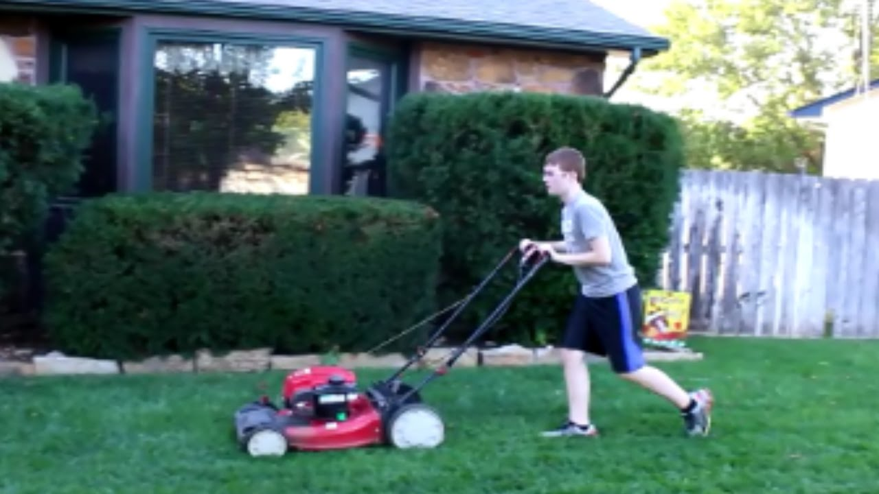 Father And Son Lawn Care Last Video Of 2017 Vlog 73