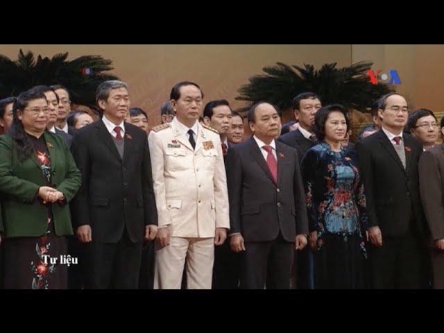 QH Việt Nam cuối khóa phê chuẩn sớm các lãnh đạo nhà nước mới