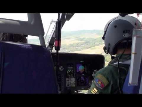 TH-135 体験搭乗