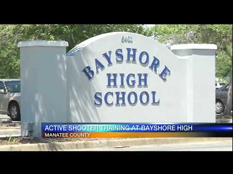 Video: Active shooter training exercise at Bayshore high school  June 5, 2018