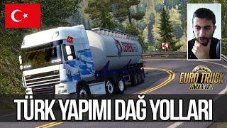 Euro Truck Simulator 2 Türk Yapımı Zorlu Rampalı Dağ Yolları - DPMap v0.4