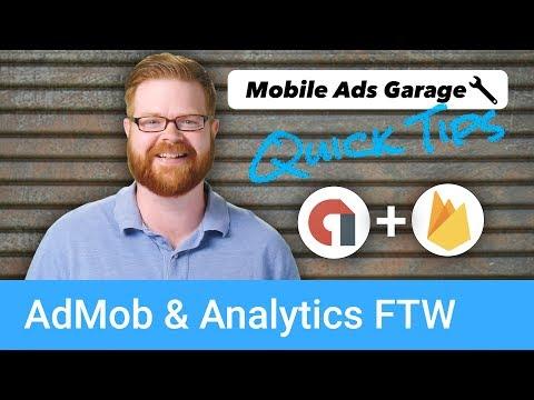 AdMob & Analytics FTW - AdMob Quick Tip #1