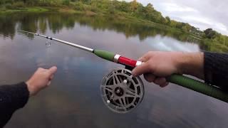 Рыбалка с Дюралевым Спиннингом и Колесом! Old school