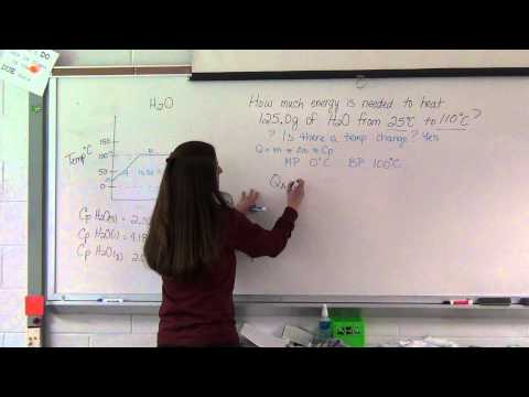 Advanced Specific Heat Example Problems