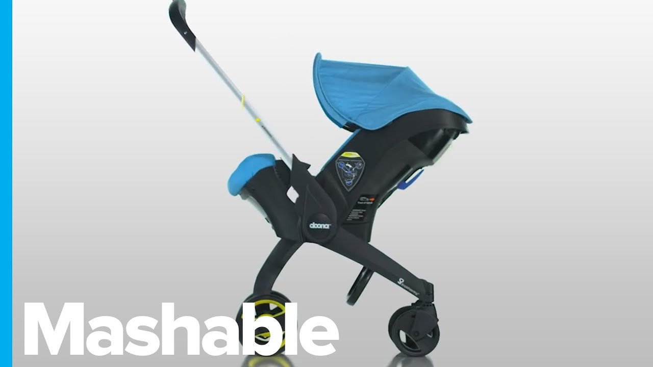 This Car Seat Transforms Into A Stroller In Seconds