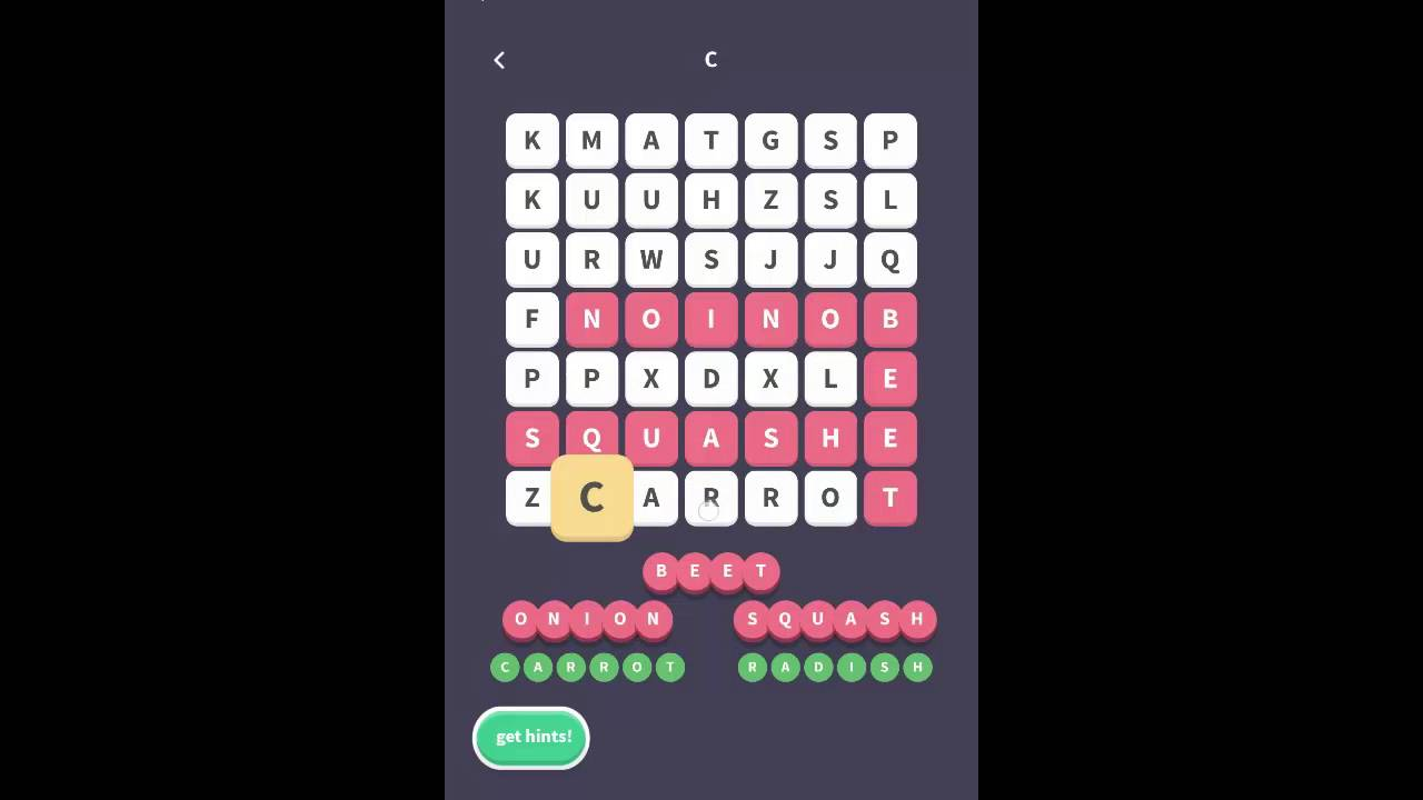 foto de WordWhizzle Search Level 109 Answers - YouTube