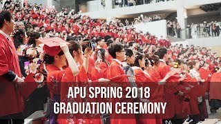 APU Spring 2018 Graduation Ceremony thumbnail