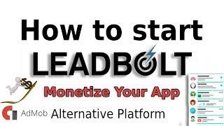 How to use Leadbolt || Admob alternative platform monetize app
