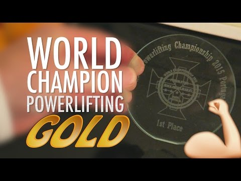 THE GOLD MEDAL POWERLIFTING CHAMPION 2015 (410)
