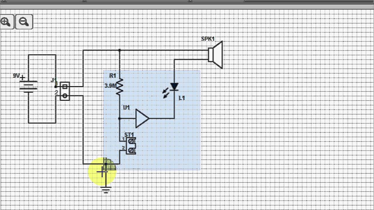 Scheme It Tutorial Free Online Schematic Tool Digikey Youtube Wire Diagram Drawing Program