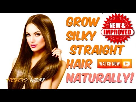 GROW SUPER SILKY STRAIGHT HAIR FAST NATURALLY! **NEW & IMPROVED** - 동영상