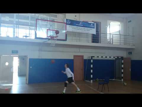 Trakya besyo basketbol parkur çalışması