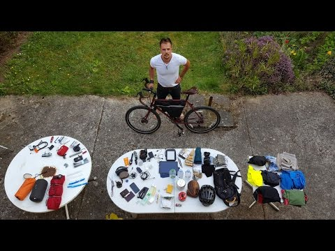 My Complete Bicycle Touring Gear For 9 Months