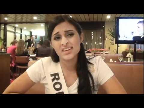 Miss Brasil 2011 - Entrevista Miss Roraima