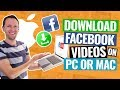 How to Download Facebook Videos on MAC & PC!