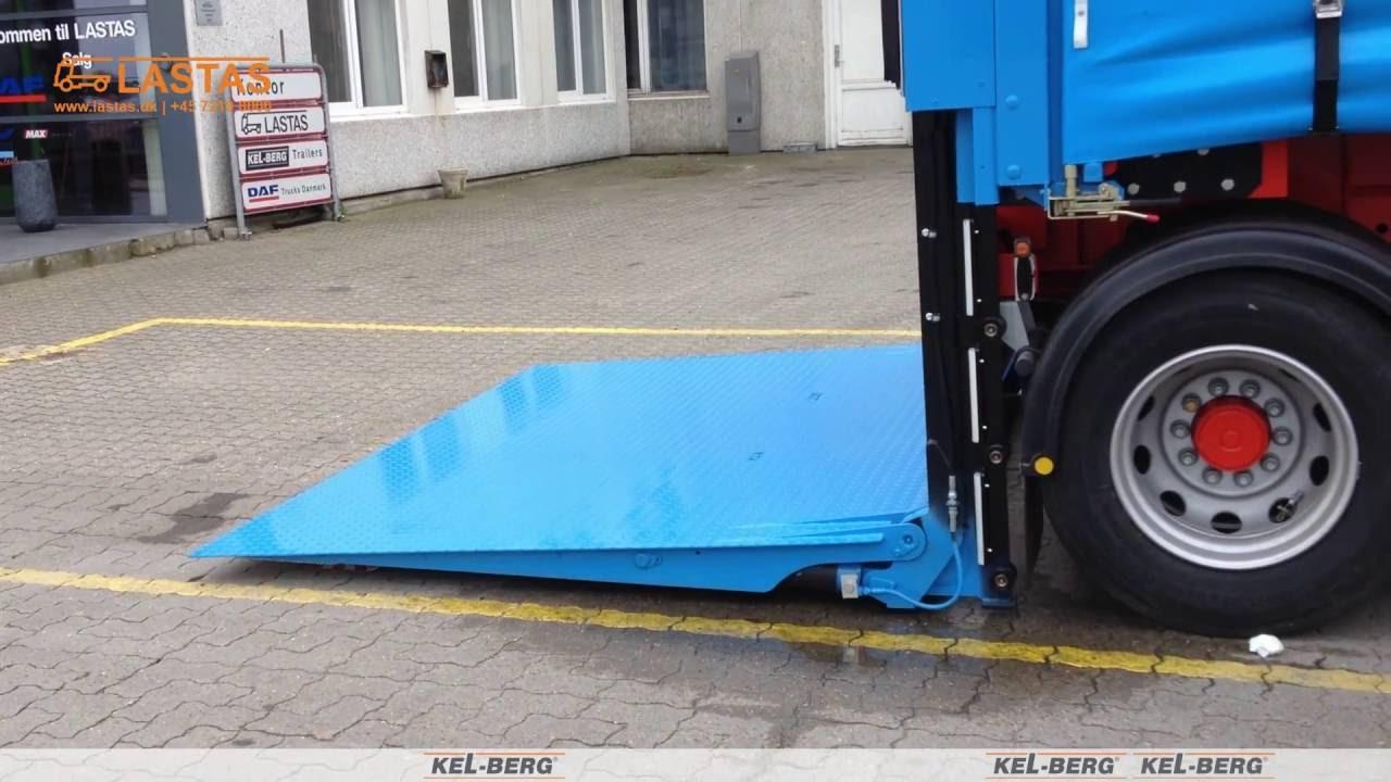 Veldig C350D 2 aks gardin linktrailer med Zepro lift for linktrailer OQ-16