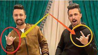 هاااام/سر شعار الماسونية الذي يرفعه الاخوين هيكل توينز والمطرب حسين الجسمي