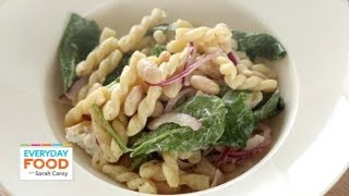 Pasta Salad With Goat Cheese And Arugula - Everyday Food With Sarah Carey