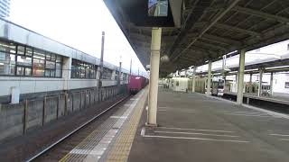 貨物列車EF210-116静岡駅