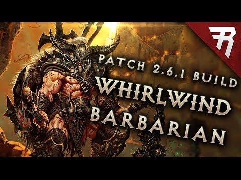 Diablo 3 2.6.1 Barbarian Build: Whirlwind GR 118 Guide, Season 12, PTR