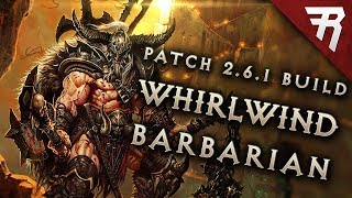 Скачать Diablo 3 2 6 1 Barbarian Build Whirlwind GR 118 Guide Season 15 PTR